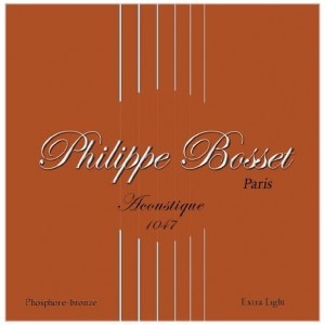 Philippe Bosset Acoustique Phosphore-bronze  10-47 - struny do gitary akustycznej