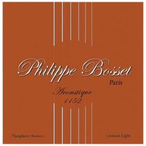 Philippe Bosset Acoustique Phosphore-bronze 11-52 - struny do gitary akustycznej