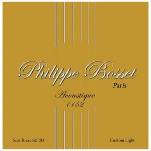 Philippe Bosset Acoustique Soft Brass 11-52 - struny do gitary akustycznej