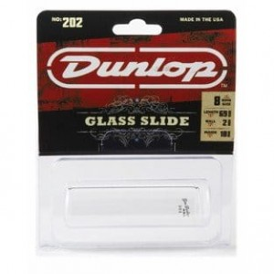 Dunlop Pyrex Glass Slide 202 szklana tulejka, rozmiar medium