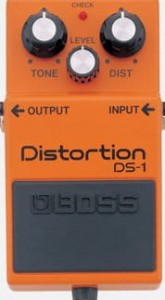 Boss DS-1 Distortion efekt do gitary